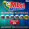 Mega Millions - Winning Numbers2